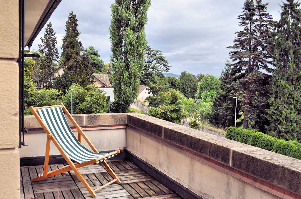 double rooms white with balcony - Bed & Breakfast - Margrit Küng, 8200 Schaffhausen