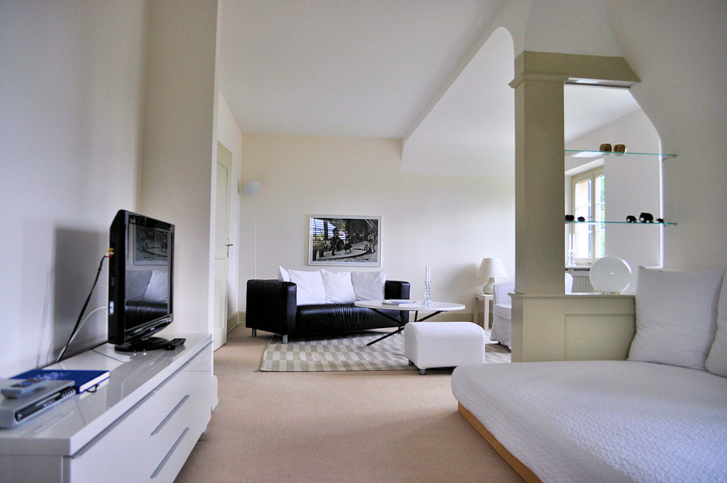 Apartment living room - Bed & Breakfast - Margrit Küng, 8200 Schaffhausen